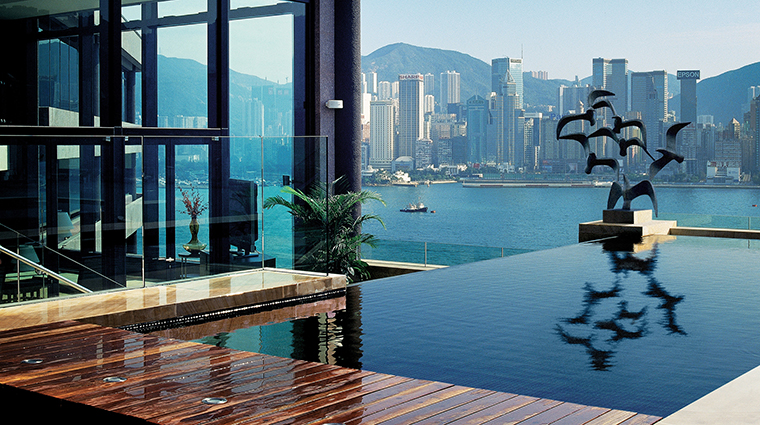 InterContinental Hong Kong Hotel Presidential Suite Rooftop Terrace