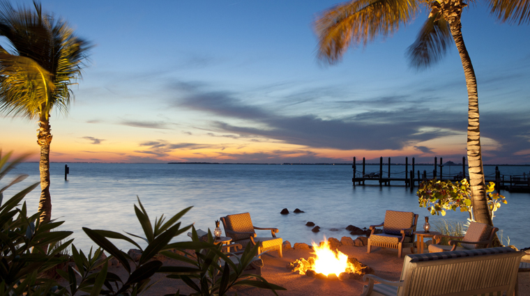 Little Palm Island Resort & Spa Firepit