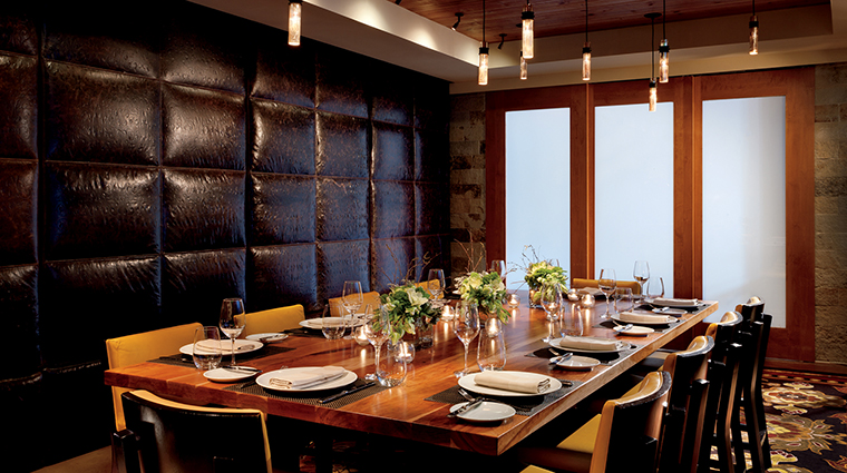 Manzanita Restaurant Private Dining Room, The Ritz-Carlton, Lake Tahoe