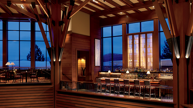 Manzanita Restaurant Highlands Lobby Bar, The Ritz-Carlton, Lake Tahoe