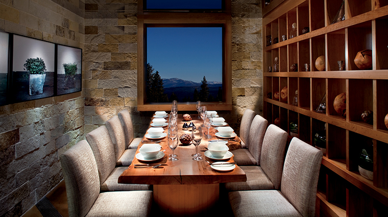 Manzanita Restaurant Chef's Table, The Ritz-Carlton, Lake Tahoe