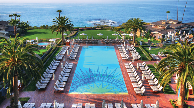 Montage Laguna Beach Pool and Pacific Ocean
