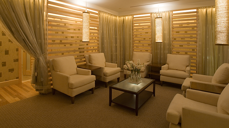Spa InterContinental Boston Relaxation Room