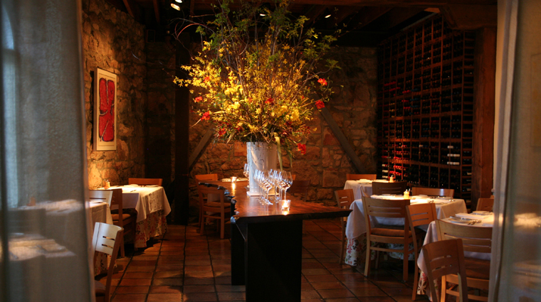 Terra Restaurant Style in Napa Valley, California