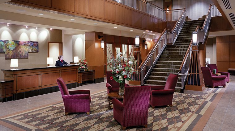 The Blackwell Lobby in Columbus, Ohio
