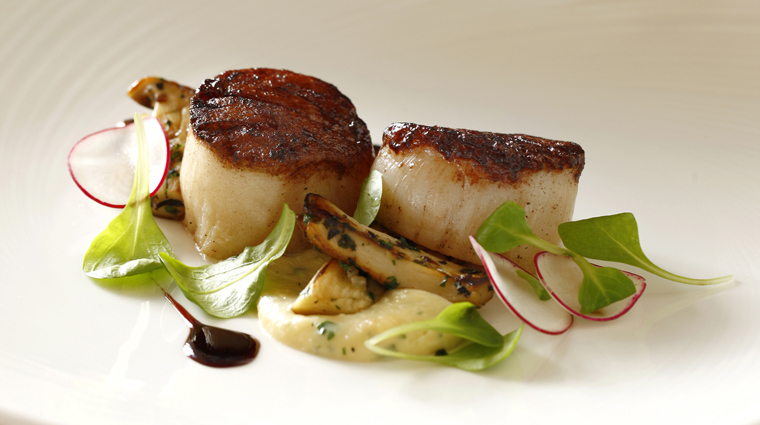 The Circular Restaurant Scallops