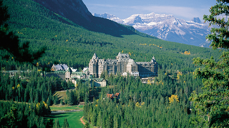 The Fairmont Banff Springs Hotel, Alberta, Canada