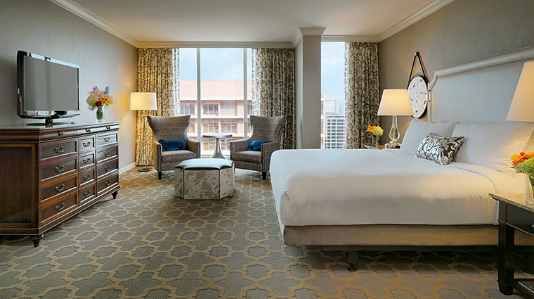 The Fairmont Dallas Guestroom