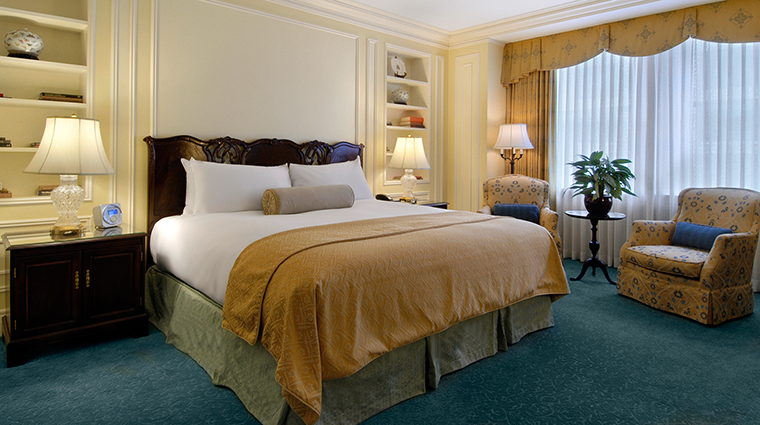 Fairmont Hotel Vancouver's Gold Guest Room