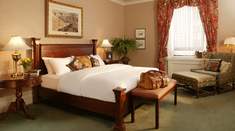 The Fairmont Palliser Heritage Suite Bedroom, Calgary