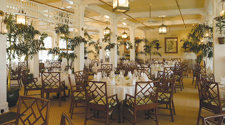 The Gasparilla Inn & Club Main Inn Dining Room