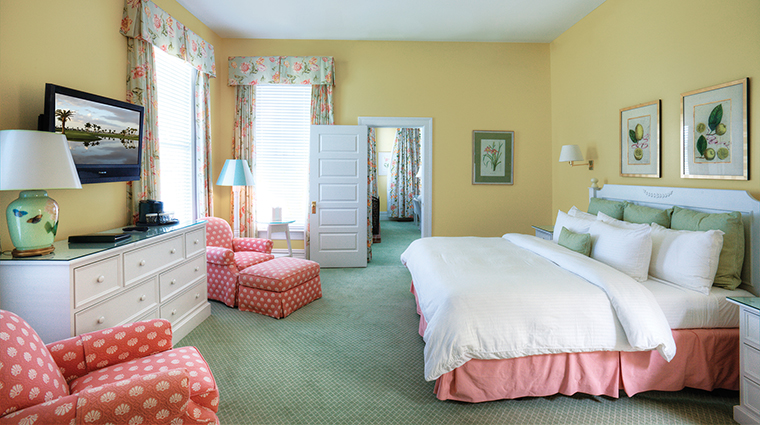 The Gasparilla Inn & Club Guest Bedroom