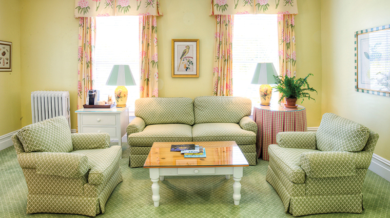 The Gasparilla Inn & Club Cottage Living Room Suite