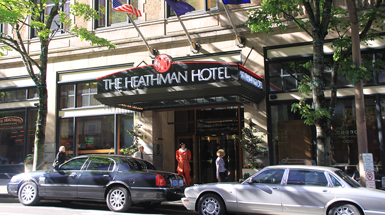 The Heathman Hotel in Portland, Oregon