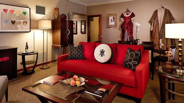 The Heathman Hotel Center Stage Suite