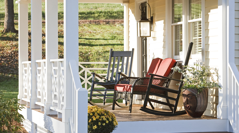 The Inn at Willow Grove Porch Seating