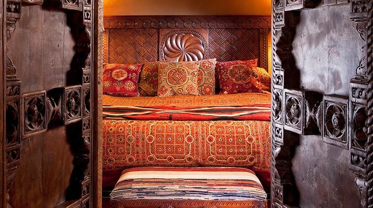 The Inn of the Five Graces Bedroom, Santa Fe, New Mexico