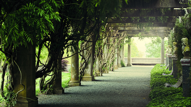 The Pergola Outside Biltmore House