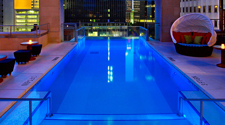The Joule, Dallas, Texas Pool