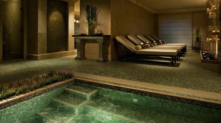 The Ritz-Carlton Spa, Guangzhou Relaxation Area