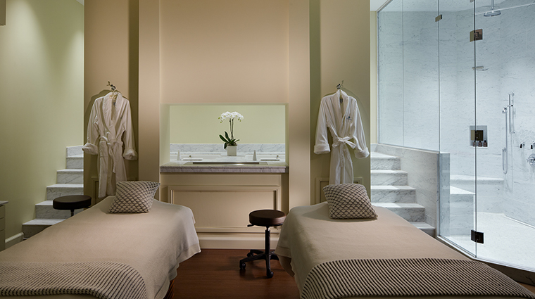 The Spa at Glenmere Duet Suite with Fireplace