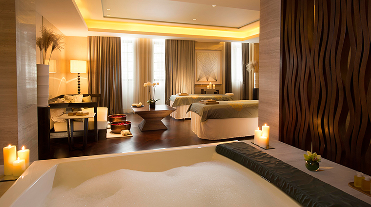 Waldorf Astoria Spa Shanghai Treatment Room