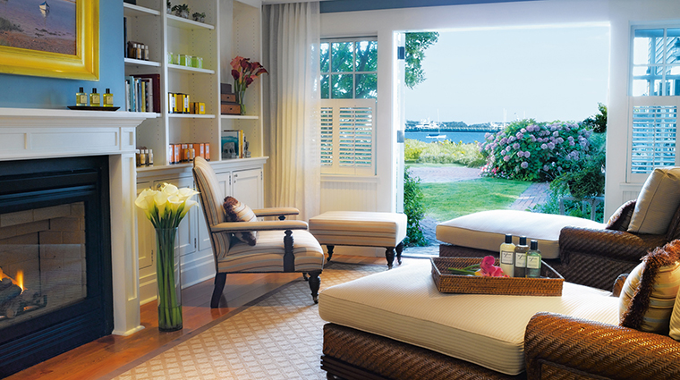 The White Elephant Hotel, Spa Serenity Room, Nantucket Island Resorts