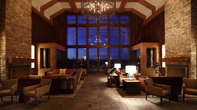 The Lodge and Cottages at Primland Lobby