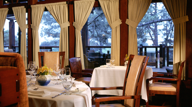A.R. Valentien Restaurant at The Lodge at Torrey Pines near San Diego