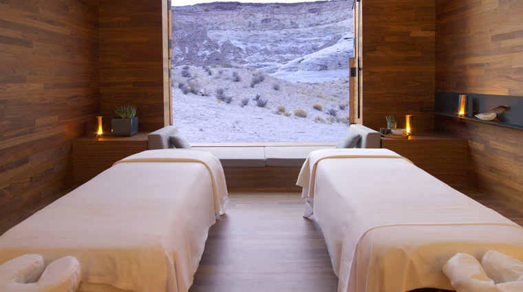 Amangiri Spa Treatment Room