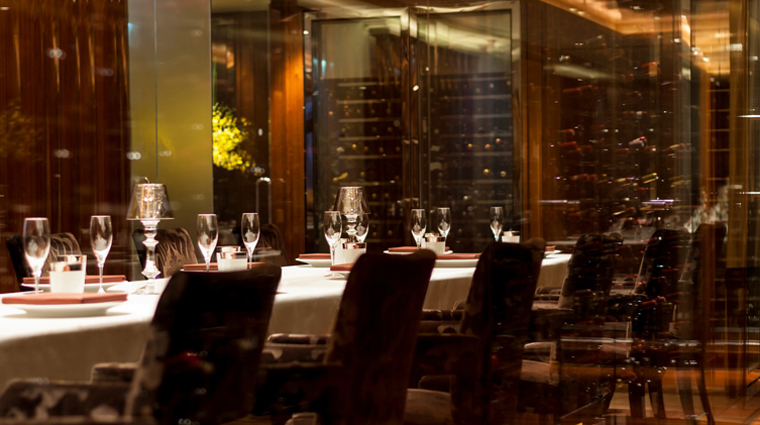 Amber Wine Room Private Dining
