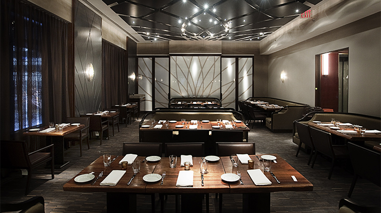 Andaz Wall Street Wall & Water Restaurant