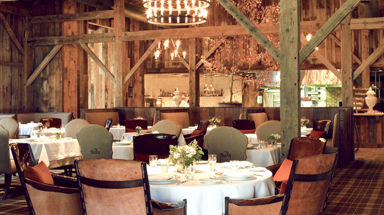 The Barn at Blackberry Farm Dining Room