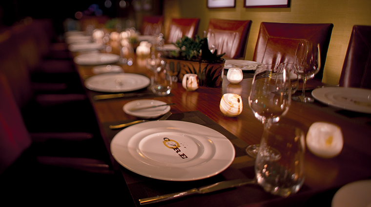 CORE Kitchen & Wine Bar Table Setting