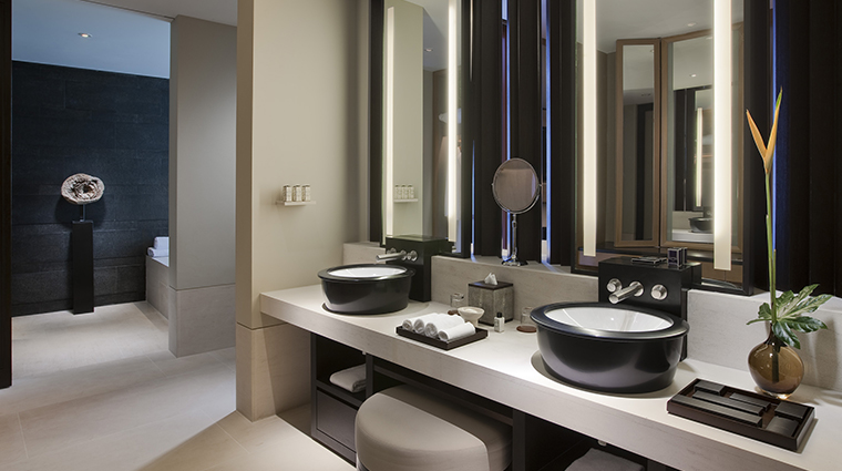 Capella Singapore Guestroom Bath