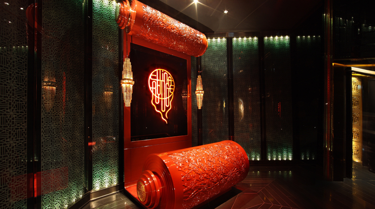 China Rouge Reception Desk
