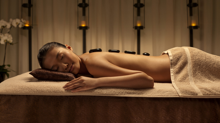 Chuan Spa at The Langham, Xintiandi, Shanghai Stone Therapy Massage