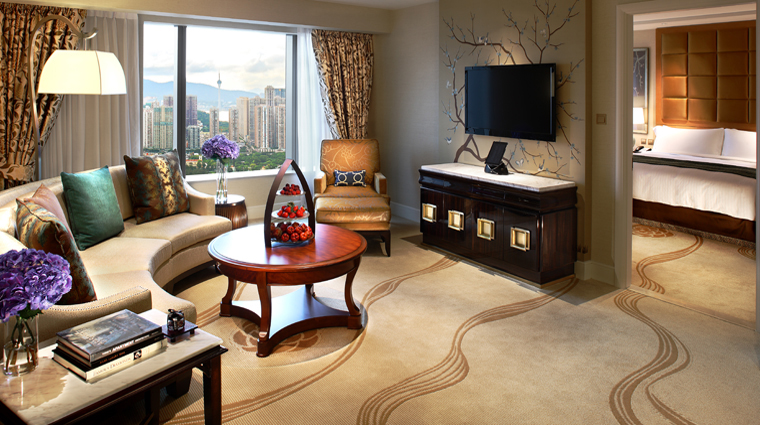 Conrad Macao, Cotai Central King Deluxe Suite Living Room