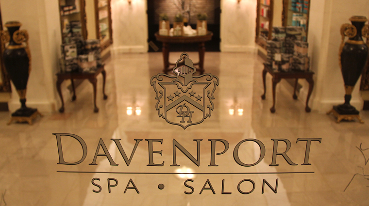 Davenport Spa & Salon, Spokane, Washington