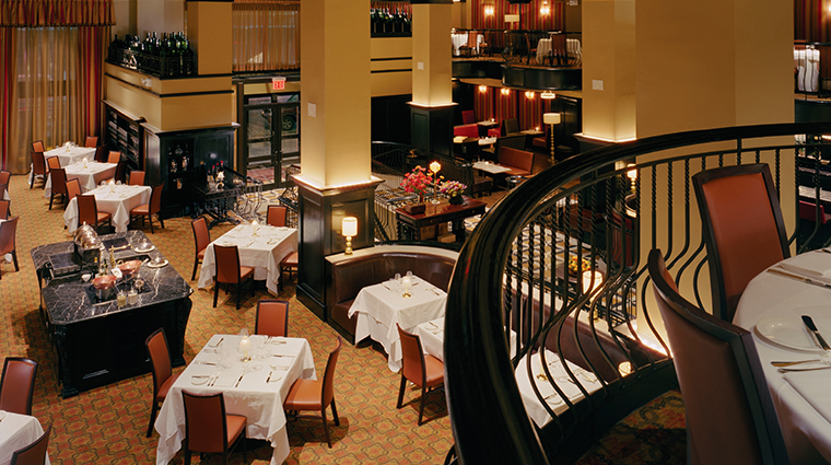 Del Posto Dining Room View from Upper Level