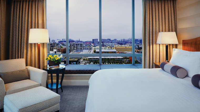 Four Seasons Hotel San Francisco Deluxe View Room