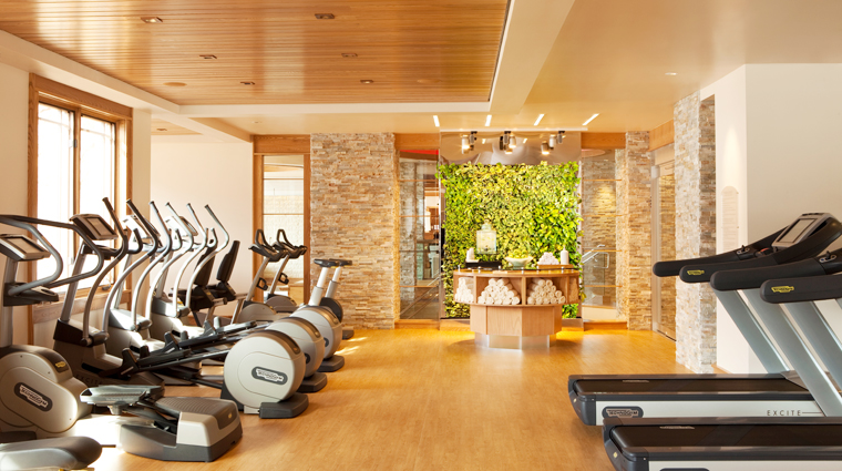 Waldorf Astoria Spa, Park City Utah, Fitness Center