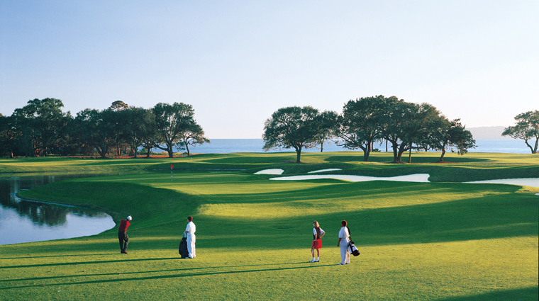 The Sea Island Golf Club Seaside Course