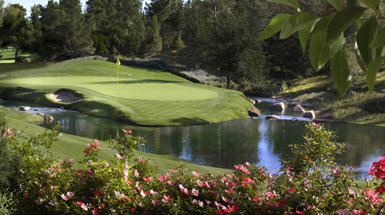Golf at Wynn Las Vegas Hole 15