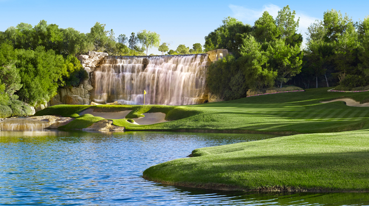 Golf at Wynn Las Vegas Hole 18