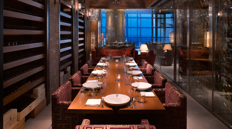Grand Hyatt Macau Wine Cellar Private Dining