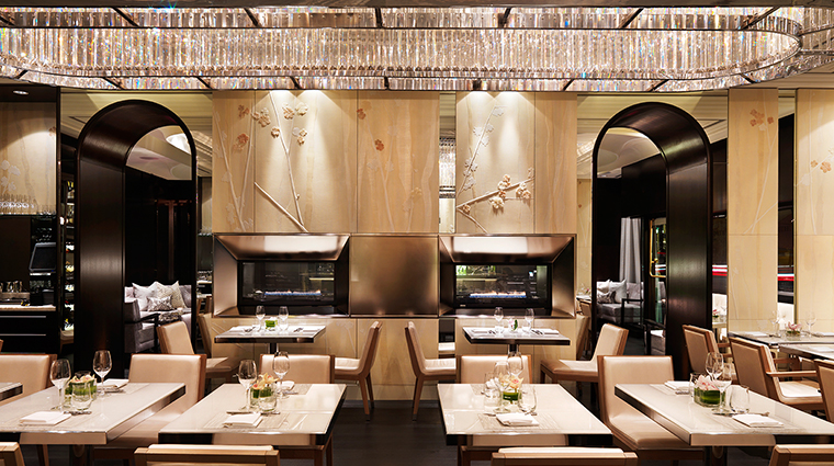 Hawksworth Restaurant Fireside Dining