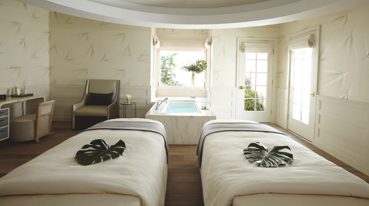 Hotel Bel-Air Spa by La Prairie Couples Treatment Room
