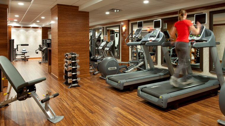 Hutton Hotel Top Tier Fitness Center