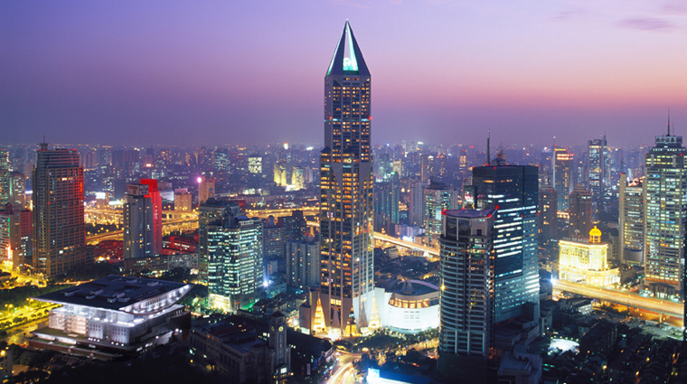 JW Marriott Hotel Shanghai at Tomorrow Square  Exterior View